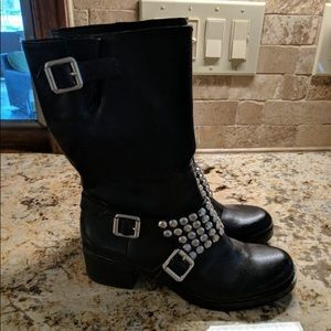 BRAND NEW BCBG Motorcycle Boots